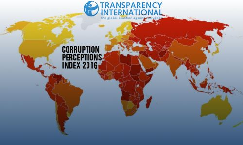 Corruption perceptions list 2016 eritrea ranks 164th out of 176 with last novembers launch of transparency internationals corruption perceptions index 2016 its timely to assess eritreas stand in the world and gumiabroncs Gallery