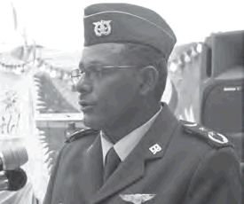 General Teklai Habteselassie, the Commander of the Eritrean Air Force