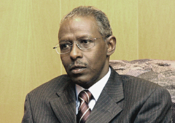 Yemane Ghebreab is the Head of the Political Affairs of People's Front for Democracy and Justice (PFDJ)