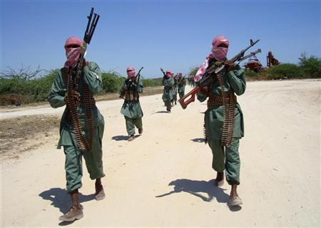 Members of the militant al Shabaab Islamist group